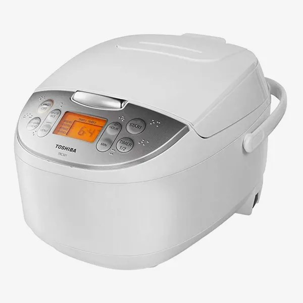 Toshiba TRCS01 6-Cup One-Touch Cooking Rice Cooker