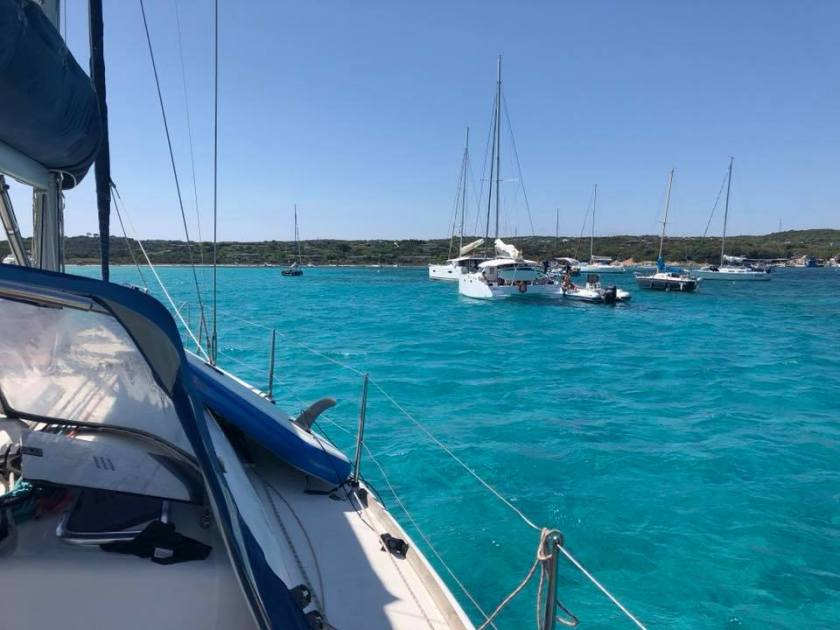 Convyage bateau pz sailing Corse 12
