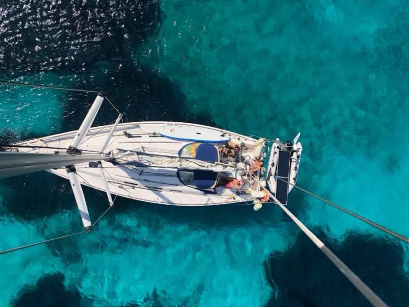 Convyage bateau pz sailing Corse 6