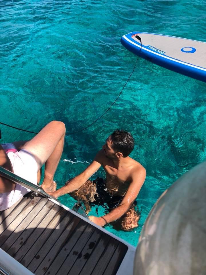 Convyage bateau pz sailing Corse