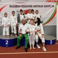Седем медала за каратеките на Тонус-Спорт