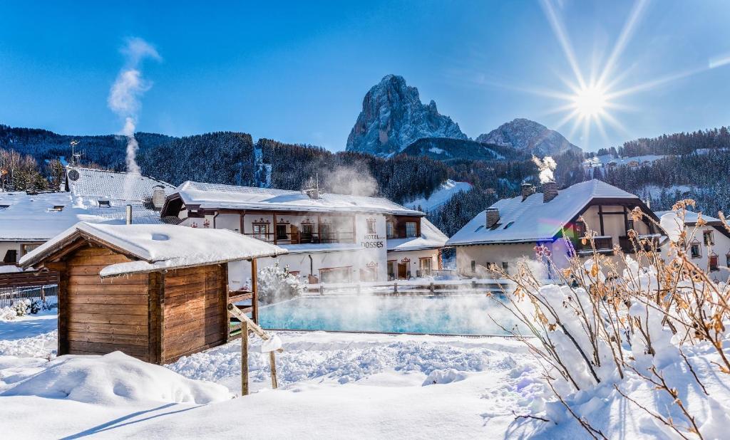 Vitalpina Hotel Dosses durante l'inverno