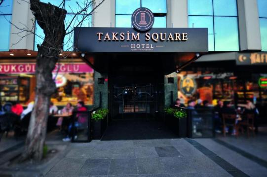 Size Of Taksim Square