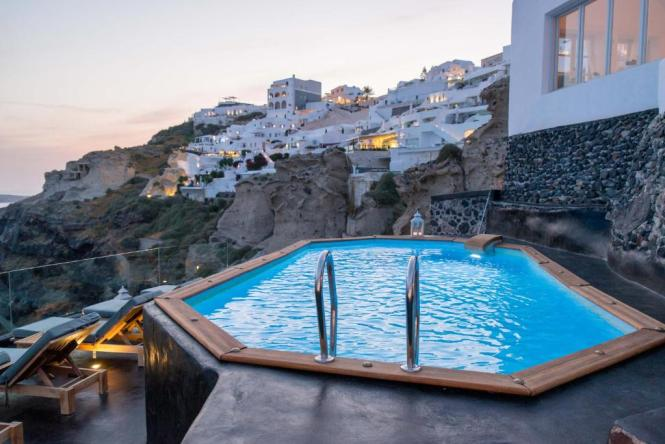 Nostos Apartments Oia Greece