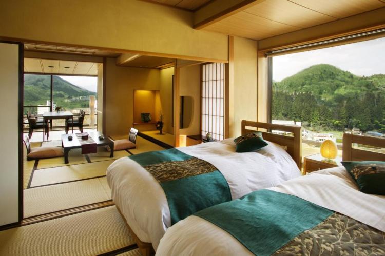 Onsen resort Sakan