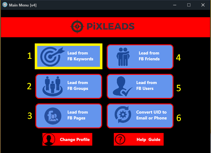 Facebook Email Extractor PIXLEADS PRO | Qsender | Best