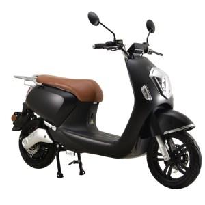 Q Crystal elektrische scooter matzwart