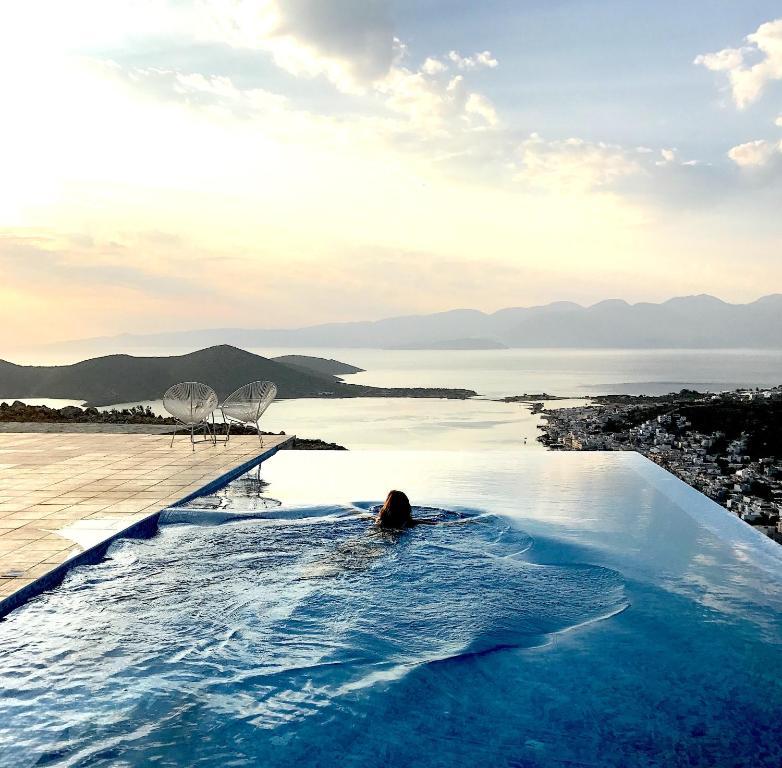 Villa Estee Luxury Villa With Private Infinity Swimming Pool Villa Elounda