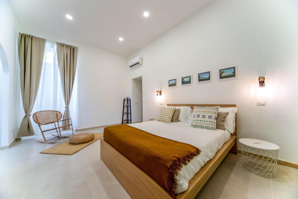La camera da letto moderna è la scelta più facile in tema di stile. La Cupoletta Appartamento Naples Centre By Gocce Team Appartamento Napoli