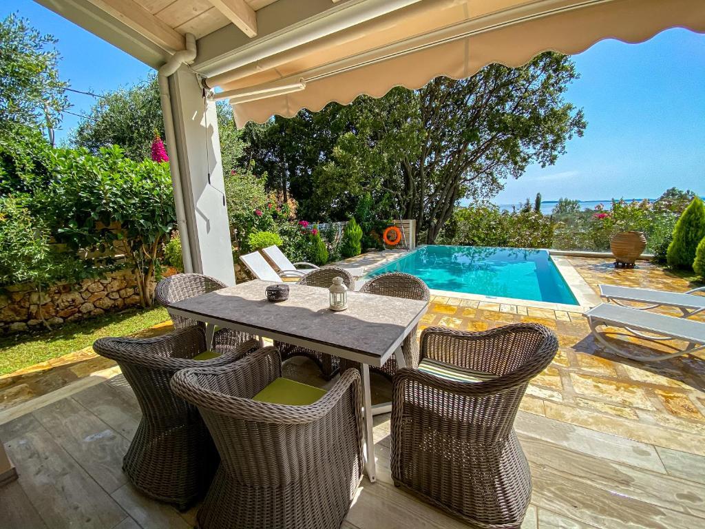 seafront barbati prestige swimming pool