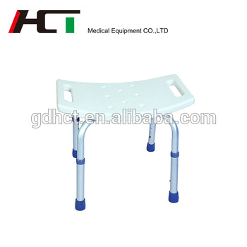 Disabled Toilet Chair Adjustable Chairs Elderly Acrylic Stool Old People Bath Support Seat