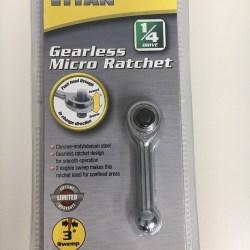 11200 Titan 1/4 Gearless Micro Ratchet