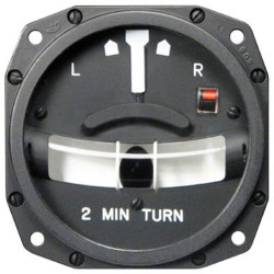 1234T100-8ATZ Turn and Slip Indicator, Model #: 1234T100. mid-continent avionics instrument distributor in toronto close to yyz airport