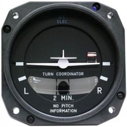1394T100-12RB Turn Coordinator, Model #: 1394T100. mid-continent avionics instruments distributor in toronto close to yyz airport