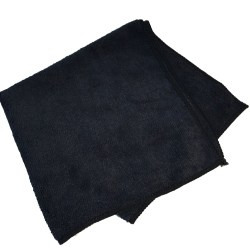 300 GSM Microfibre Cloth - Black