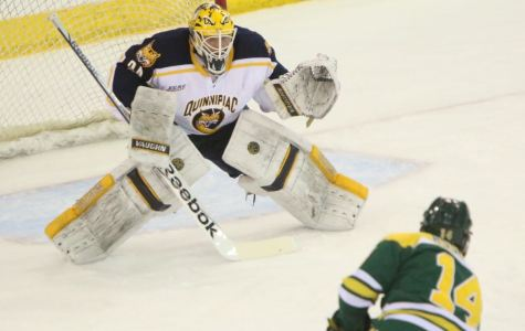 Quinnipiac men's hockey faces ongoing struggles in the first period