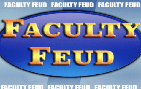 "Quinnipiac students and faculty fight in ""Faculty Feud"""