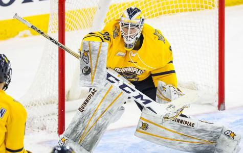 Quinnipiac falls to St. Lawrence, 2-0, in game one of ECAC quarterfinals