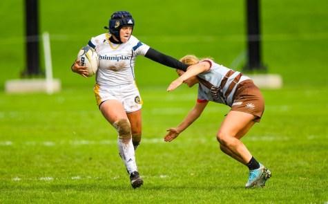Quinnipiac rugby defeats Notre Dame College in NIRA quarterfinals 46-5