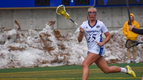 Quinnipiac women's lacrosse falls to Fairfield in physical MAAC home opener