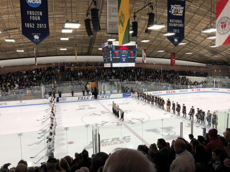Quinnipiac defeats Yale 4-1, claims No. 1 seed in ECAC Hockey tournament