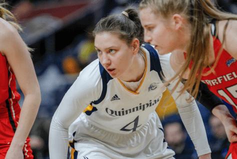 Quinnipiac women's basketball advances to 2019 MAAC final, defeats Monmouth 80-42