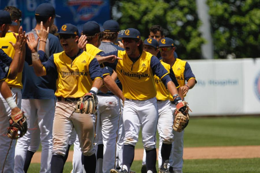 Poulin's gutsy effort leads Quinnipiac baseball to MAAC tournament win