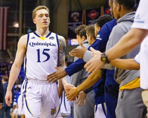 Travis Atson no longer with the Quinnipiac men's basketball team