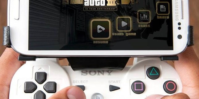 GameKlip - Clip Your PS3 Controller to Your Android Phone
