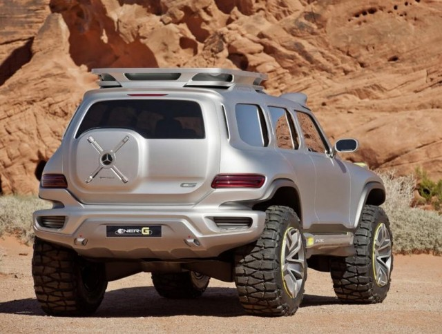Vision ener g force off road for the future mercedes benz for Mercedes benz of texarkana