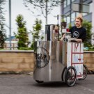 Velopresso: Espresso Vending Tricycle