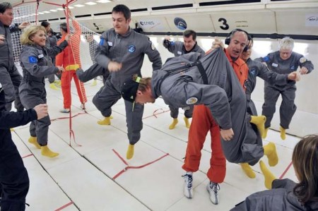 Zero Gravity On Board Airbus A330 Zero-G