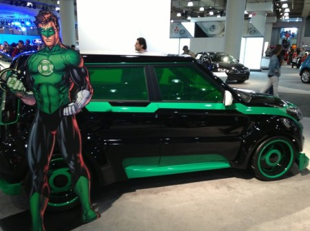 DC Comics and KIA Superhero-Themed Cars