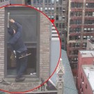 Insane Window Cleaner Without Harness