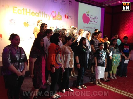 Final Ceremony of Eat Healthy Q8