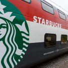 Starbucks Opens First Cafe On a Swiss Train