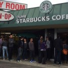 New Coffee Shop Called Dumb Starbucks in Los Angeles