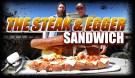 Arnold Schwarzenegger Giant Steak And Egger Sandwich
