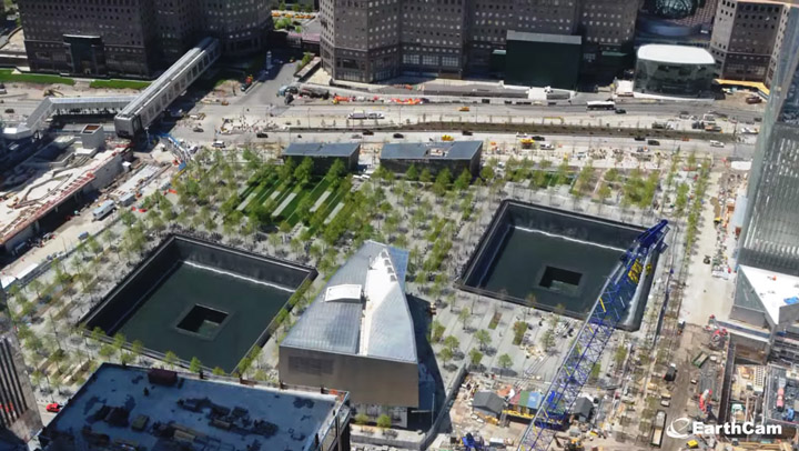 The 911 Memorial Museum Tribute In Time-Lapse