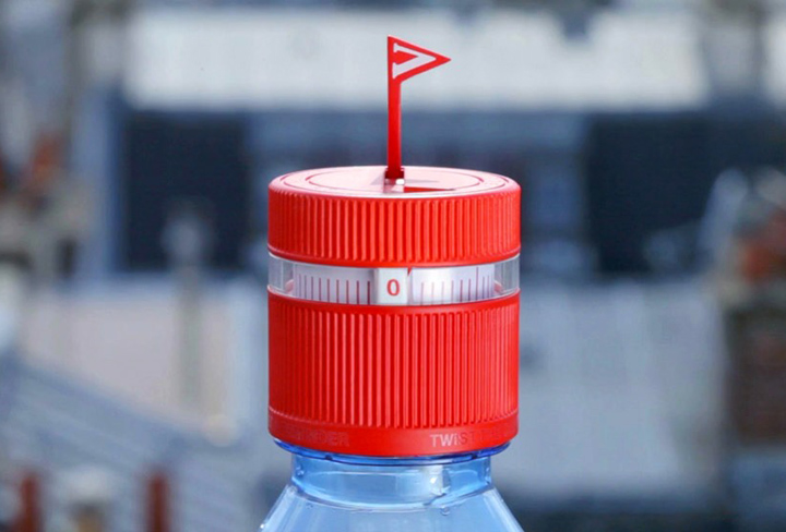 vittel refresh cab water bottle