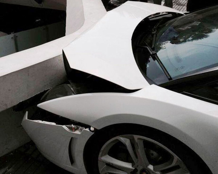 Lamborghini Gallardo Crash Pictures 5