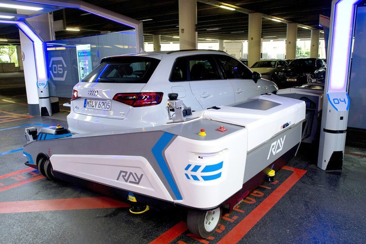 Robotic Parking Valet In Germany 3