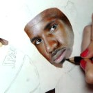 Spectacular Photo Realistic Painting Of LeBron James