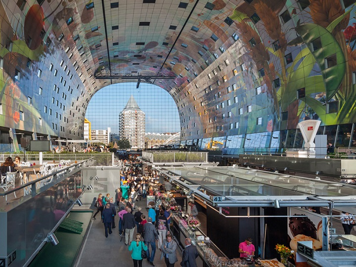 Markthal Rotterdam Food Hall 2