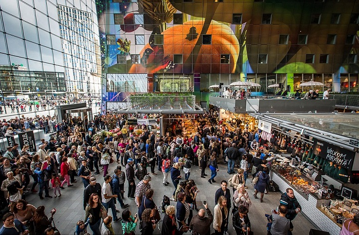 Markthal Rotterdam Food Hall 7