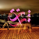 Beautiful Light Calligraphy By Karim Jabbari