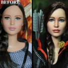 Artist Repaints Toy To Look like Jennifer Lawrence
