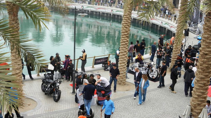 Kuwait Bike Show at Marina Crescent 2