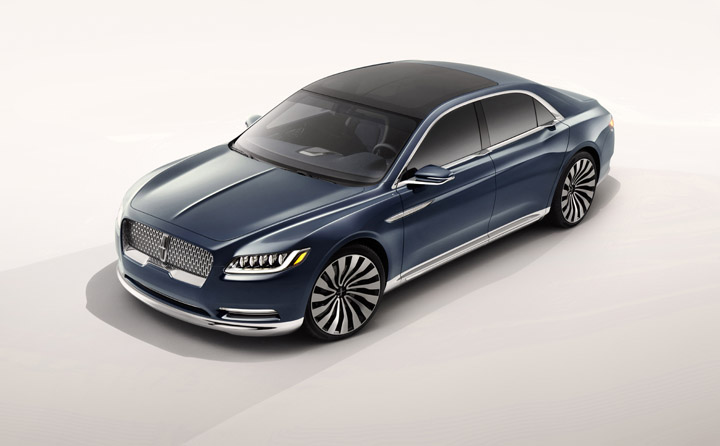 Lincoln Continental Concept Top