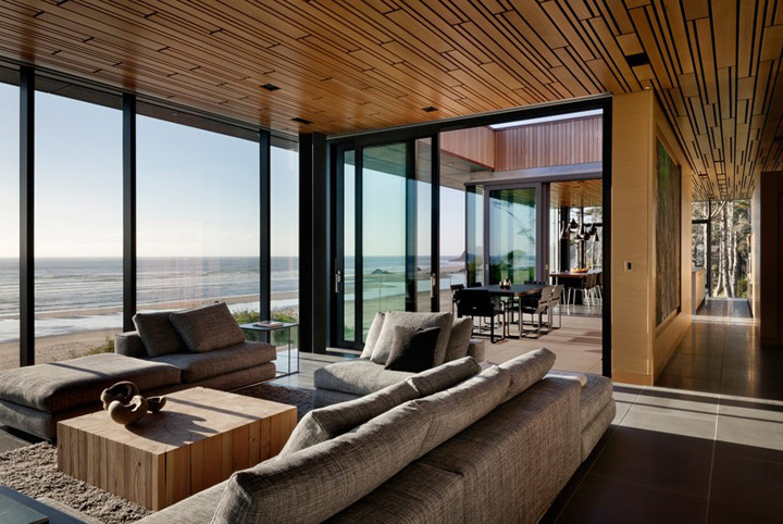 Ocean View Glass House